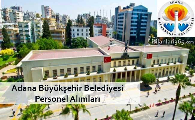 Adana Büyükşehir Belediyesi Personel Alımı ve İş İlanları