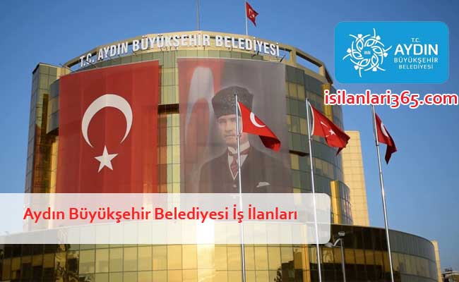 Aydın Büyükşehir Belediyesi Personel ve Memur Alımı
