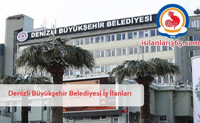 Denizli Büyükşehir Belediyesi Personel ve Memur Alımı