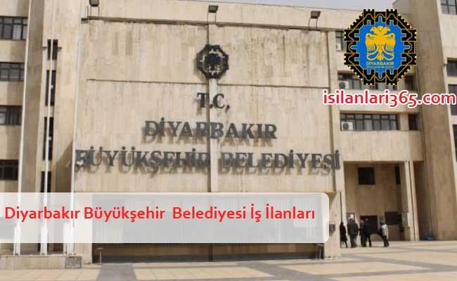 Diyarbakır Büyükşehir Belediyesi Personel ve Memur Alımı