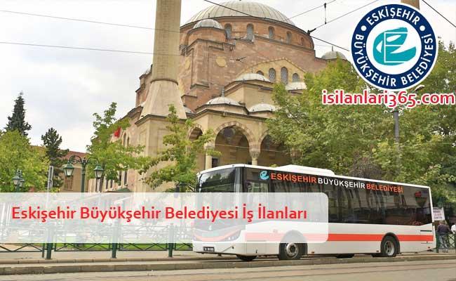 Eskişehir Büyükşehir Belediyesi Personel ve Memur Alımı