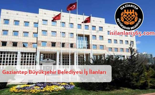Gaziantep Büyükşehir Belediyesi Personel ve Memur Alımı