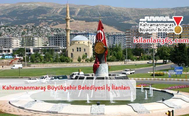 Kahramanmaraş Büyükşehir Belediyesi Personel ve Memur Alımı