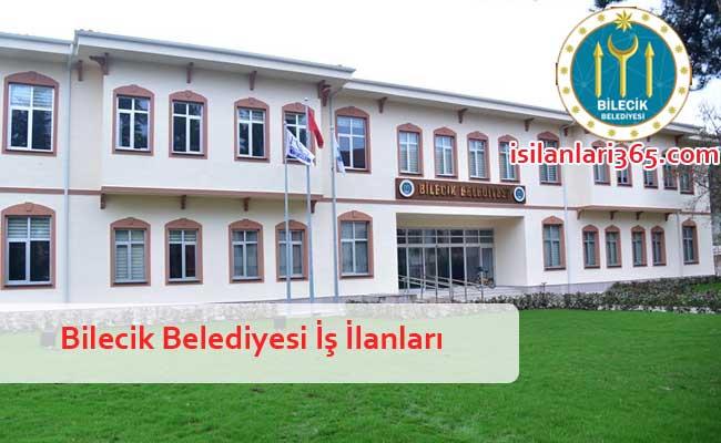 Bilecik Belediyesi Personel ve Memur Alımı