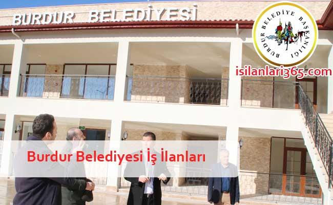 Burdur Belediyesi Personel ve Memur Alımı
