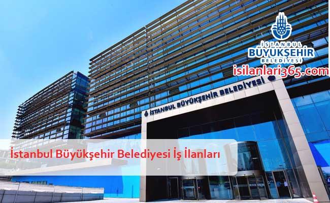 İstanbul Büyükşehir Belediyesi Personel ve Memur Alımı