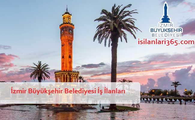 İzmir Büyükşehir Belediyesi Personel ve Memur Alımı