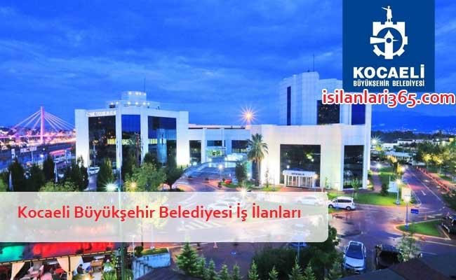 Kocaeli Büyükşehir Belediyesi Personel ve Memur Alımı