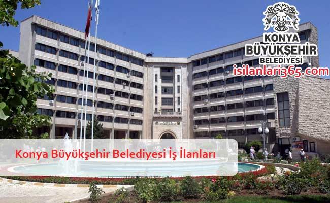 Konya Büyükşehir Belediyesi Personel ve Memur Alımı