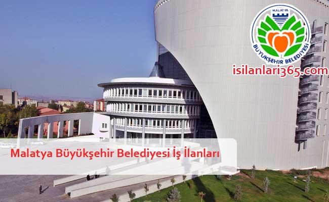 Malatya Büyükşehir Belediyesi Personel ve Memur Alımı
