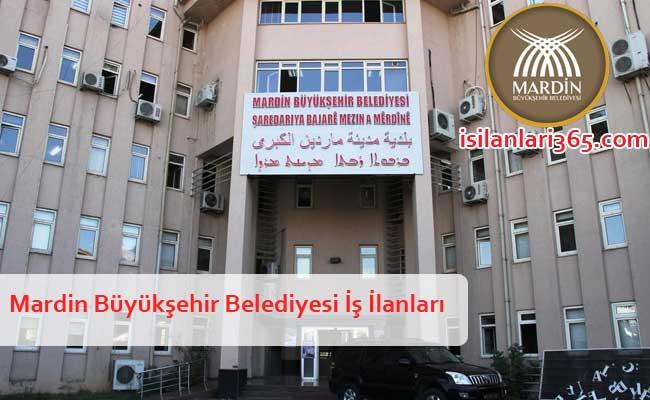 Mardin Büyükşehir Belediyesi Personel ve Memur Alımı