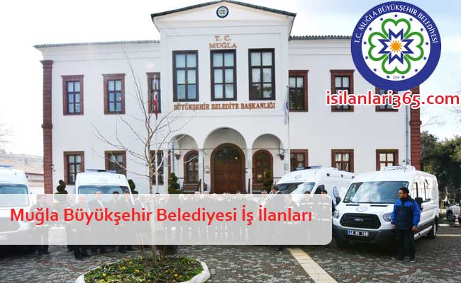 Muğla Büyükşehir Belediyesi Personel ve Memur Alımı