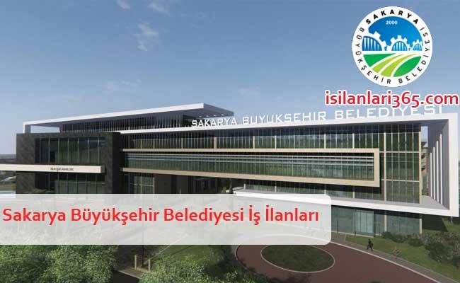 Sakarya Büyükşehir Belediyesi Personel ve Memur Alımı
