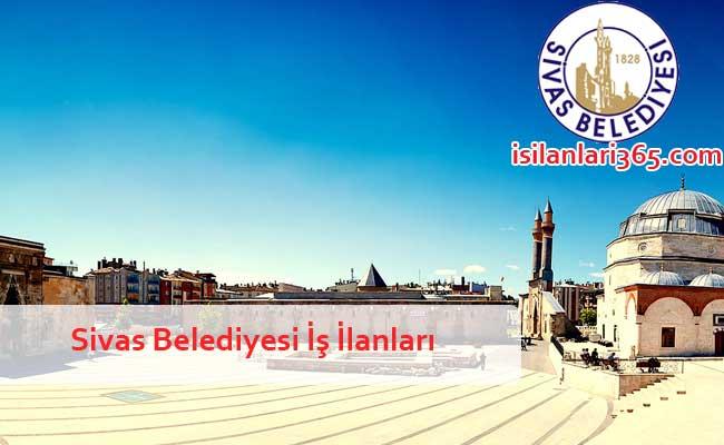 Sivas Belediyesi Personel ve Memur Alımı