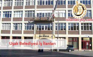 Uşak Belediyesi Personel ve Memur Alımı