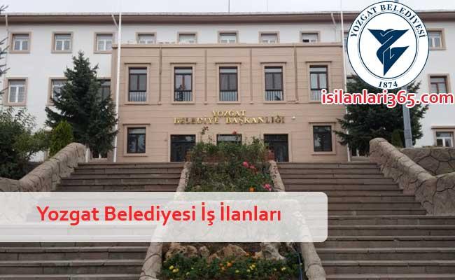 Yozgat Belediyesi Personel ve Memur Alımı