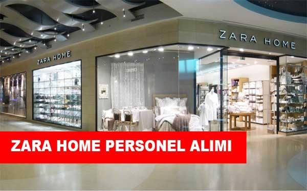 Zara Home İş İlanları, Personel Alımı ve İş Başvurusu