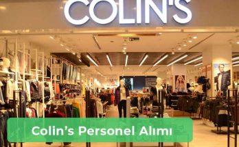 Colin's İş İlanları, Personel Alımı ve İş Başvurusu
