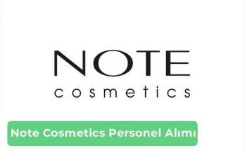 Note Cosmetics İş İlanları, Personel Alımı ve İş Başvurusu