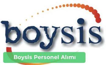 Boysis Makine İş İlanları, Personel Alımı ve İş Başvurusu