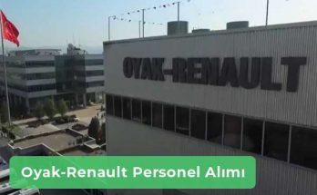 Oyak Renault İş İlanları, Personel Alımı ve İş Başvurusu